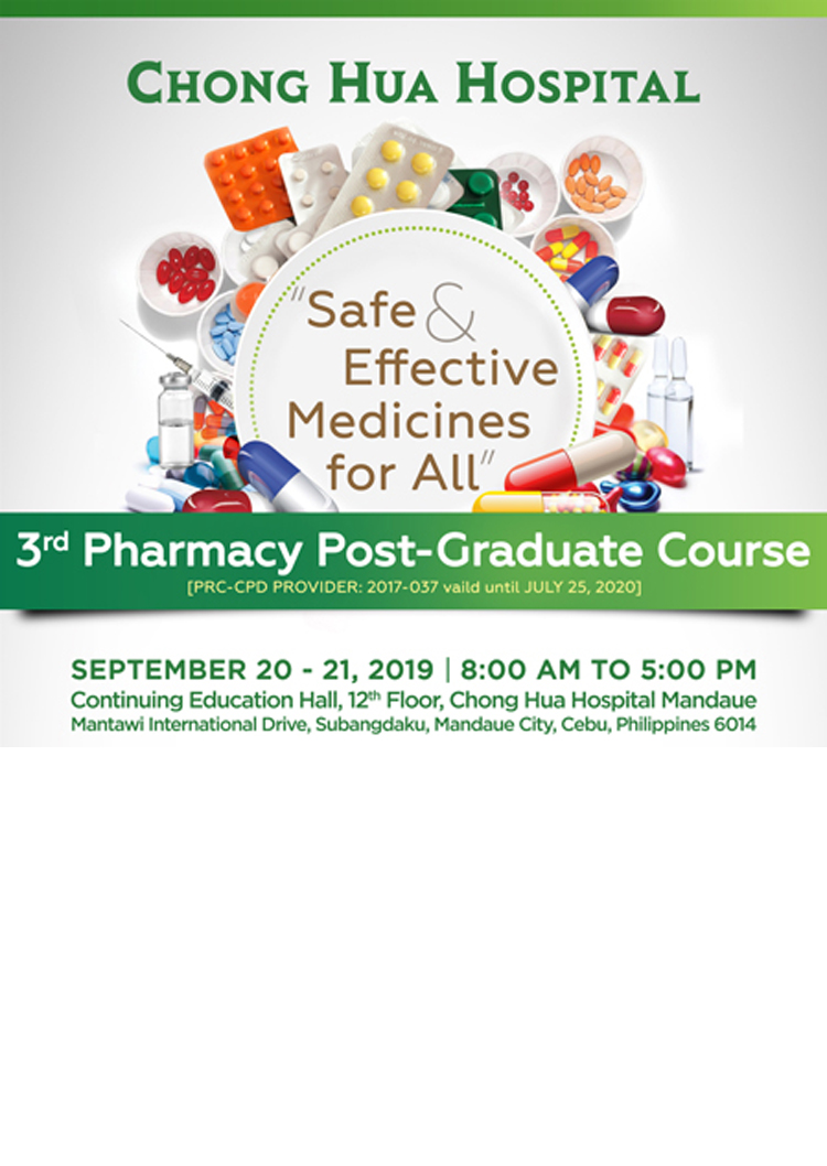 3rd Pharmacy Post Graduate Course