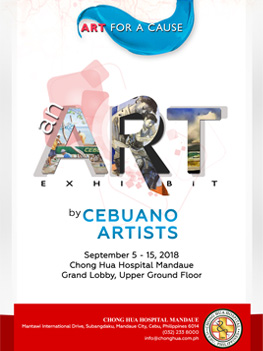 Art for a Cause. An Art Exhibit by Cebuano Artists.
