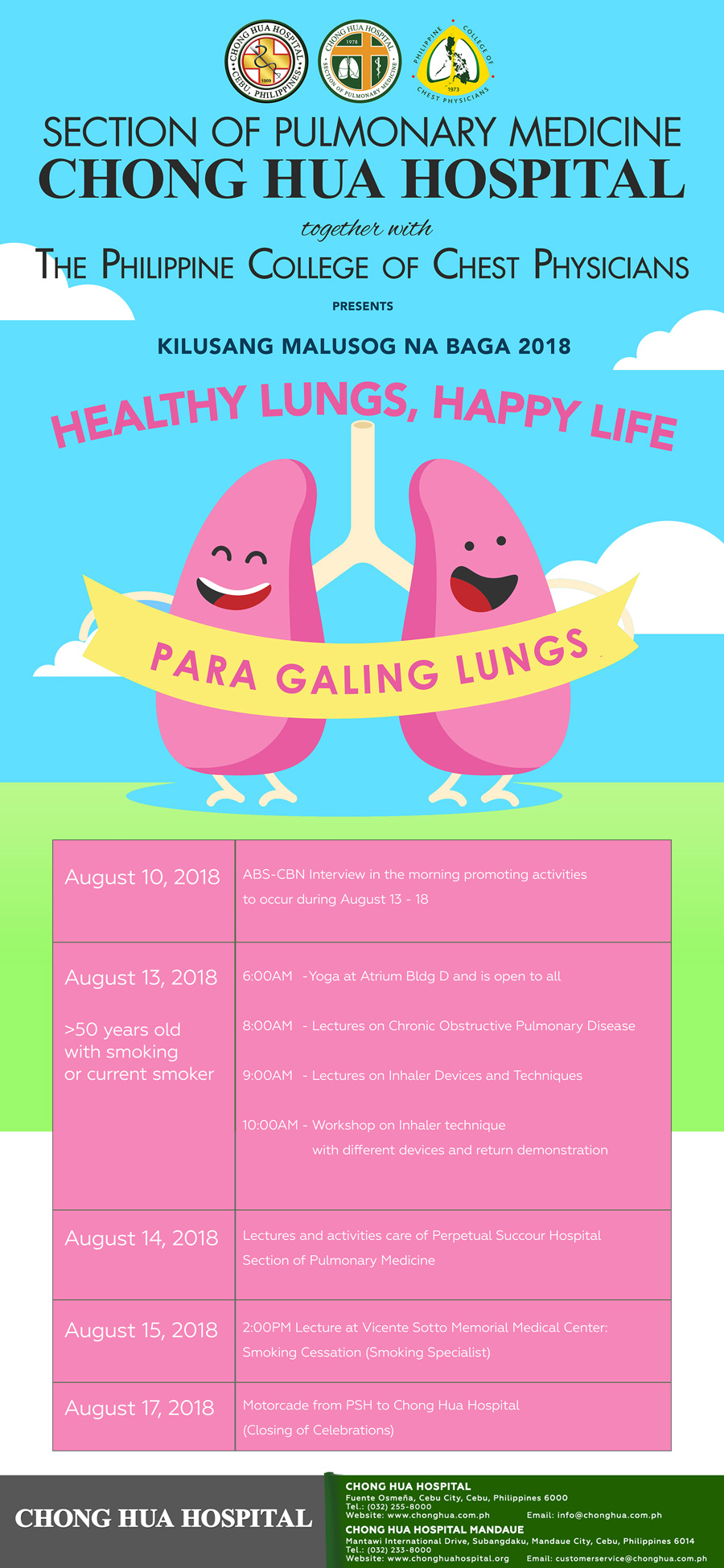 Healthy Lungs, Happy Life