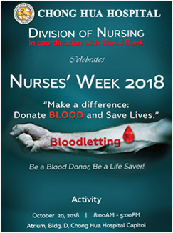 Nurses Week 2018 - Bloodletting